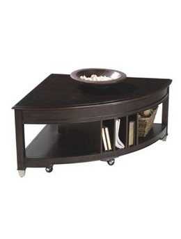 T1124-65 Pie Shaped Cocktail Table