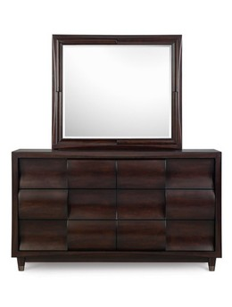 B1794-20/40 Drawer Dresser & Landscape Mirror