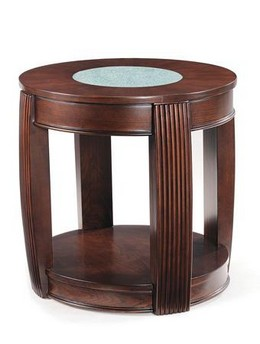 T1738-07 Oval End Table