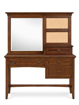 Y1873-30/48 Desk with Vanity Mirror