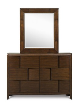 Y1876-20/42 Drawer Dresser & Portrait Mirror