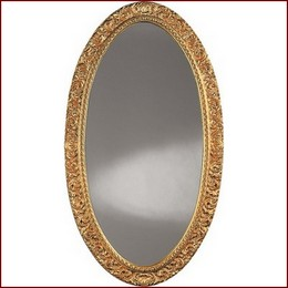 Mirror W1109 Antique Gold