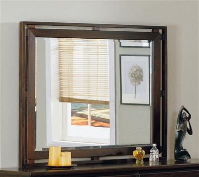 Simply Living Double Frame Landscape Mirror