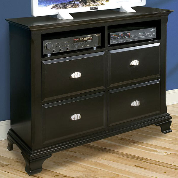 Chelsea Ebony Media Chest