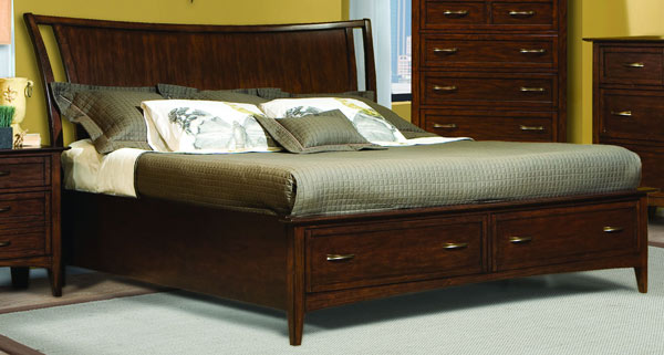 Stanford Heights Storage Bed 5/0 Queen