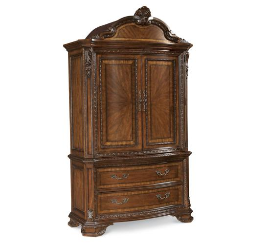 Old World- Armoire Top
