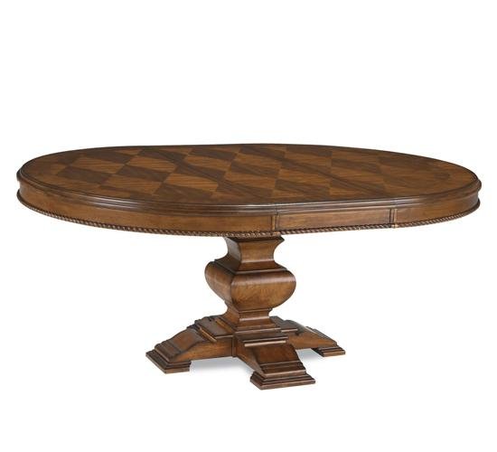 Marbella- Round Dining Table Top- Tobacco