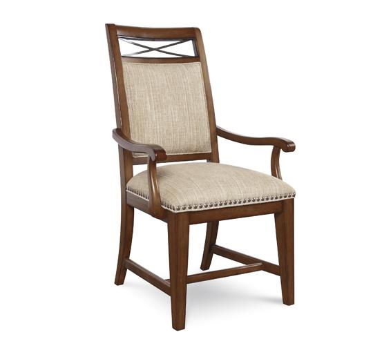 Copper Ridge- Upholstered Back Arm Chair
